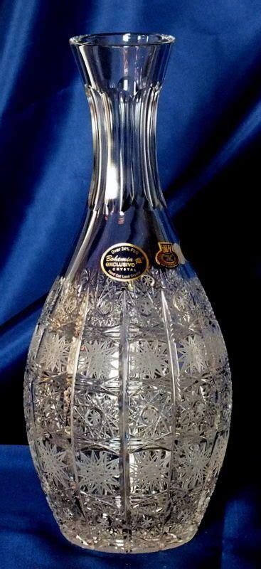 ladari in cristallo di boemia bottiglia in cristallo di boemia bohemia idea