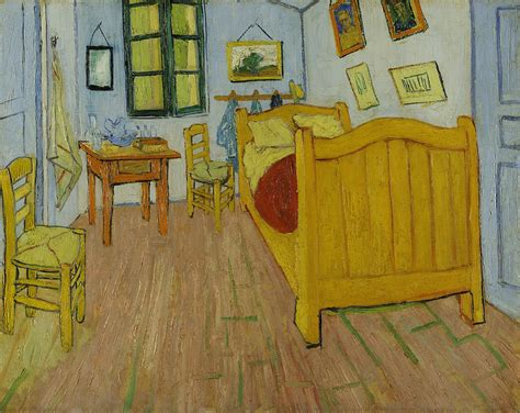 the bedroom by vincent van gogh google images