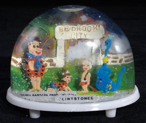 flintstones snow globe let s play hollywood pinterest