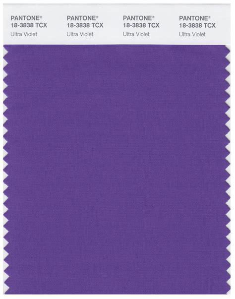 Pantone Colors by Pantone Smart 18 3838 Tcx Color Swatch Card Ultra Violet