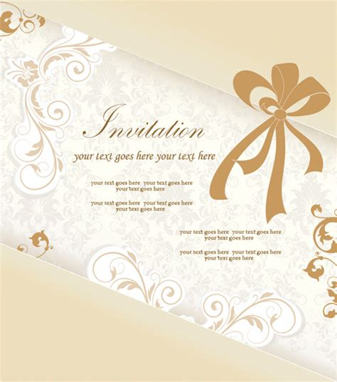 how to design an invitation card using coreldraw invitation card design cdr free vector download 14 374