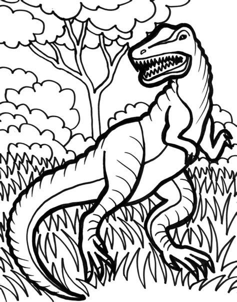 free color pages trex coloring pages best coloring pages for
