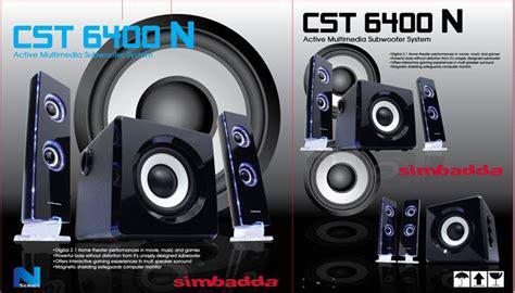 Simbadda Cst 4600 N harga jual speaker simbadda cst 6400n