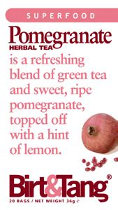 Detox Herbal Tea Birt Tang by Birt Tang Pomegranate Tea