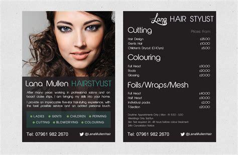 templates for hair salon flyers hair salon flyer flyer pinterest