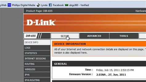 resetting wifi password dlink adding a name ssid and password to a d link router youtube