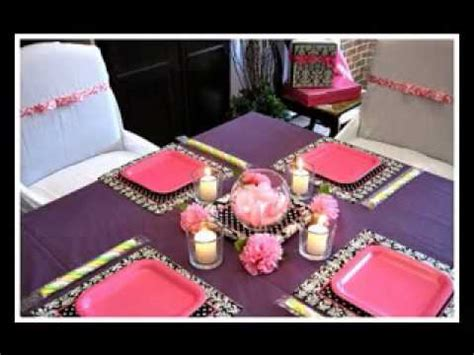 Decorations For Home Cheap by Diy Cheap Baby Shower Centerpiece Decorating Ideas Youtube