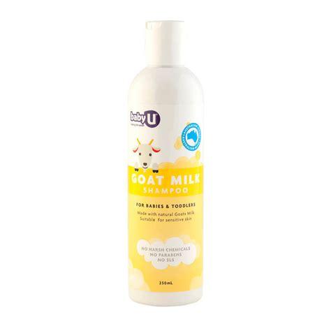 Topfer Babycare Hair Wash baby u goat milk shoo 250ml pak products