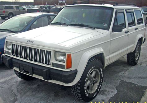 old jeep grand cherokee file jeep cherokee classic xj jpg wikimedia commons