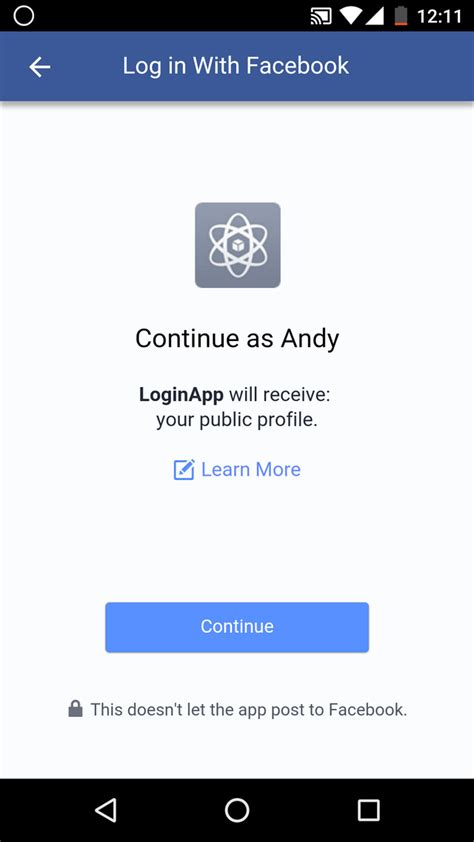 fb login android login with facebook with dialog in android stack overflow