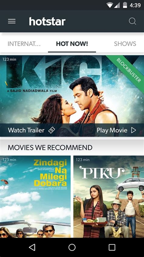 Hotstar Live Tv Movies Cricket Google Play Store Top | hotstar live tv movies cricket google play store top