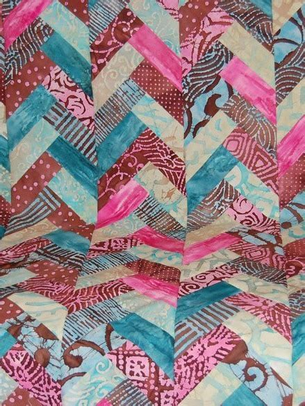 Quilt Patterns Free Jelly Roll by Jelly Roll Braid Quilt Favequilts