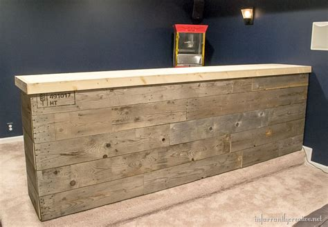 diy bar plans the man cave pinterest man cave wood pallet bar free diy plans infarrantly