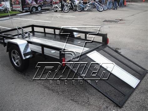 Motorrad Wohnwagen by Custom Motorcycle Trailers Enclosed And Open Transport