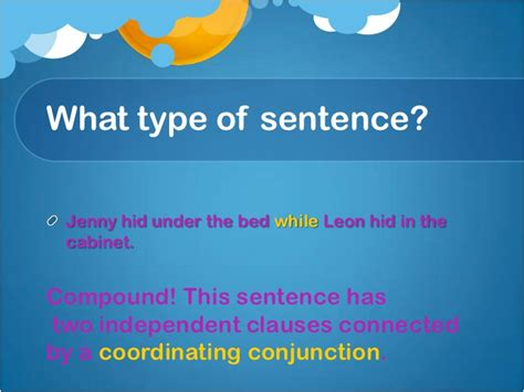 Sentence Of Cupboard Types Of Sentences Project