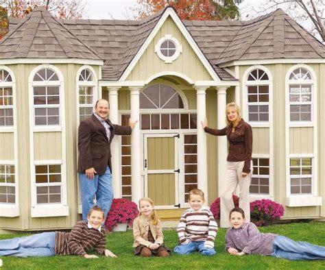 Opulent Definition Luxury Backyard Dwellings Grand Portico Mansion Playhouse