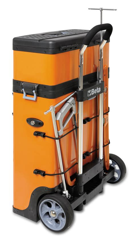 Beta Tool Cabinet by Beta C41h Two Module Tool Trolley Cabinet Orange