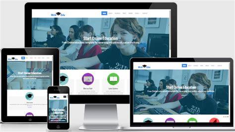 Latest Free Education Website Template Webthemez Free Responsive Website Templates