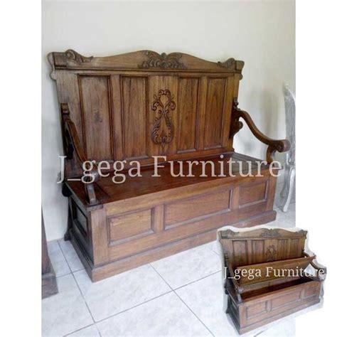 Bale Bale Jati Ukiran Klasik Furniture Kursi Teras Bangku Jati bangku daybed raja antik box ukiran kayu jati furniture kuno