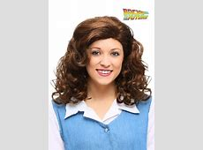Back to the Future Jennifer Parker Wig Jennifer Parker Back To The Future Costume