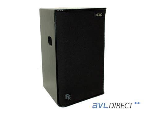 Speaker Nexo nexo ps15 bas speaker ps 15 subwoofer 15 in bass sub low