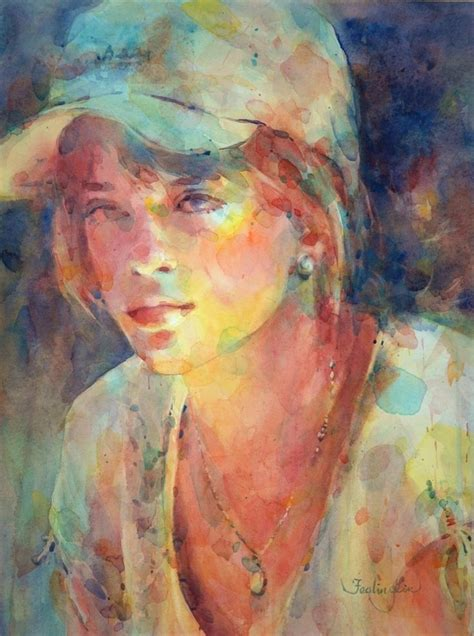 painting painting 249 best watercolor portraits images on