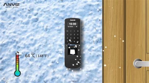 Anviz P7 Fingerprint anviz p7 poe touch fingerprint and rfid access