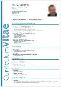 mod 232 le cv cadre commercial mod7le cv