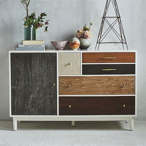 West Elm Patchwork Armoire - patchwork dresser multi west elm