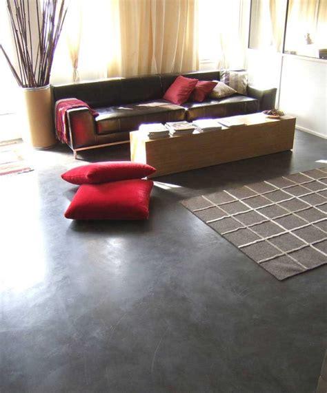pavimenti zona giorno pavimento in microcemento continuo pavimento moderno