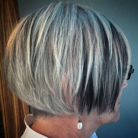 hair colors for women over 60 gray blue 60 gorgeous hairstyles for gray hair