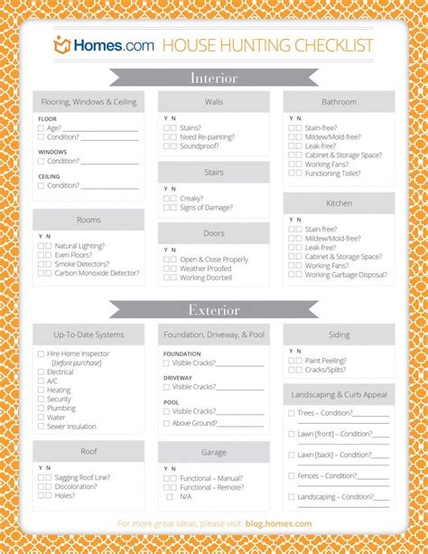 new house buying checklist home buying checklist on pinterest home buying tips buying a home