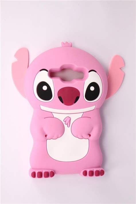 Silicone Lilo Stitch Disney Stich Biru Samsung J7 Prime J5 Prime for samsung galaxy j1 high quality inexpensive lovely pink stitch shape soft