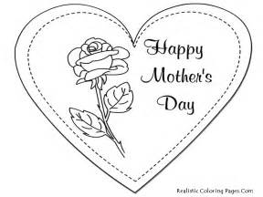 printable mothers day cards to color printable mothers day coloring pages realistic coloring