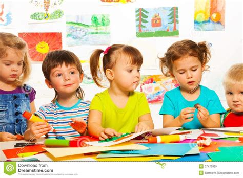 by 3 4 years a resilient child should be able to fend for 3 years old creative kids stock image image of
