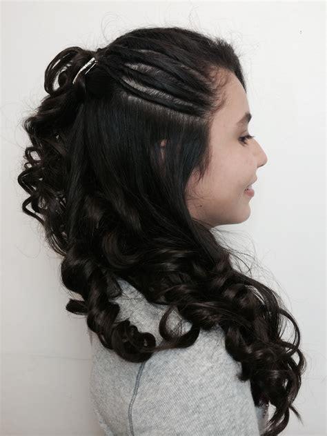 peinados nias peinado con rizos para ni 241 a youtube