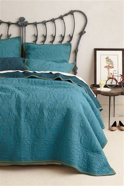 teal coverlet marseille coverlet dark turquoise contemporary quilts