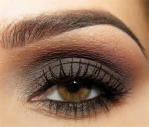 eyeshadow color for brown beautiful wedding smokey eye makeup for brown