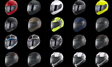Murah Helm Schuberth M1 Amsterdam Anthracite m 252 ller motorradbekleidung helme
