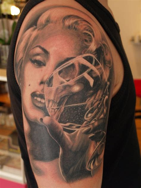 pin up girl tattoos for men marilyn tattoos the 15 greatest marilyn