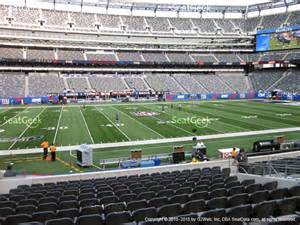 Metlife Stadium Section 148 by Metlife Stadium Section 148 Seat Views Seatgeek