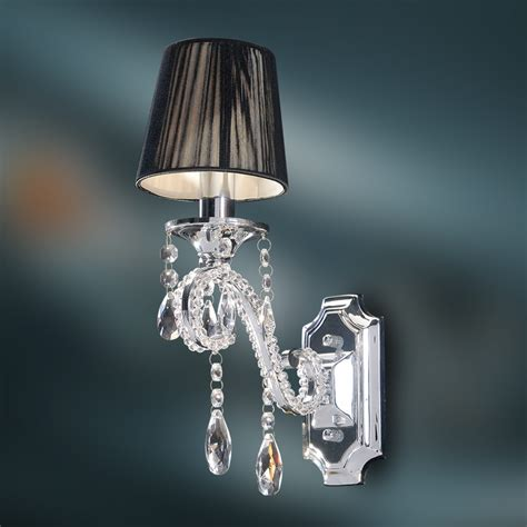 Chandelier Wall Sconce Wall L K9 Chandelier Wall Sconce Polished Chrome Finish Ebay
