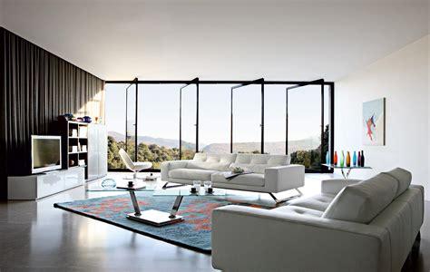 living room inspiration  modern sofas  roche bobois
