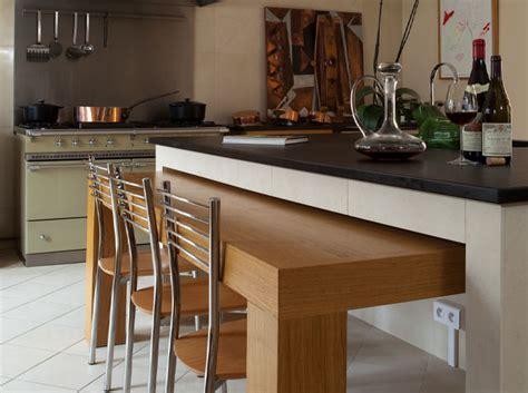 cuisine table escamotable 10 meilleures astuces gain de place pour une cuisine