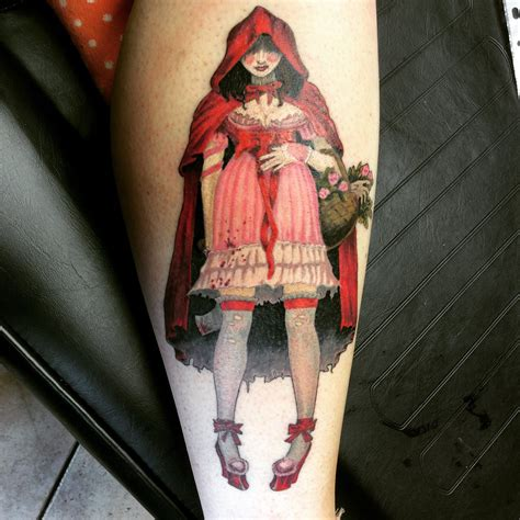 red riding hood tattoo brom by inkcaptain on deviantart