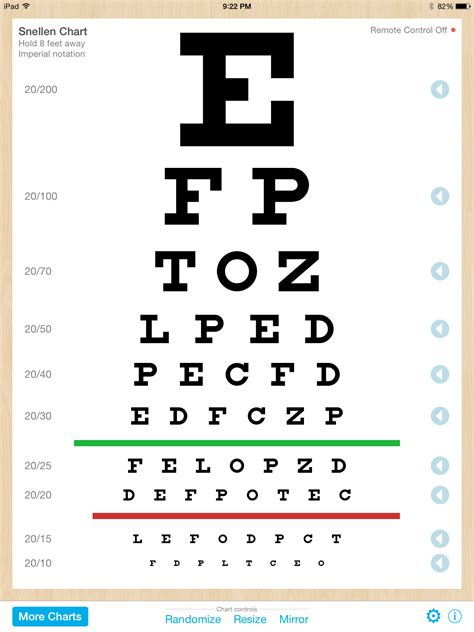 printable eye charts for near vision eye chart pro test vision and visual acuity better with