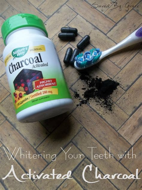 brushing teeth  activated charcoal saved  grace