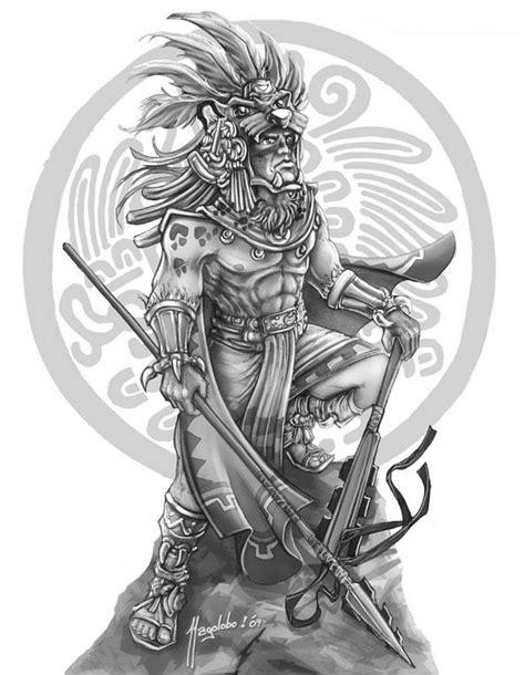 imagenes de angeles aztecas fantasy kingdom guerreros epicos quot guerrero jaguar