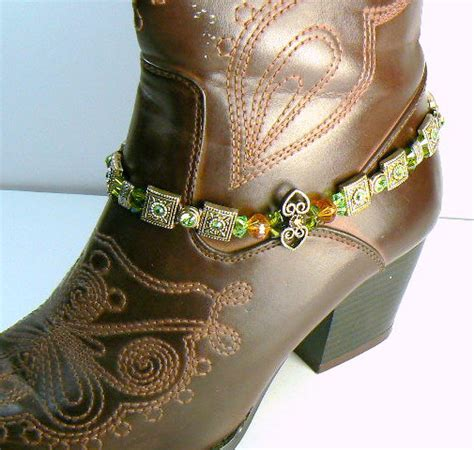 boot bling boot jewelry anklet jewelry western boot bling
