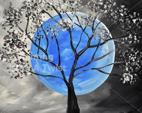 paint with a twist tallahassee blue moon tallahassee painting class painting with a